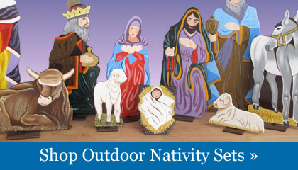 Nativity Scenes And Decor   ChristmasNightInc.com