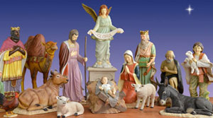 Holiday Nativity Scenes and Sets | Christmas Night Inc.
