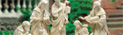 "View: Large Ivory Nativity - 40"" scale"