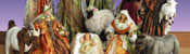 View: Life Size Fabric Nativity Sets