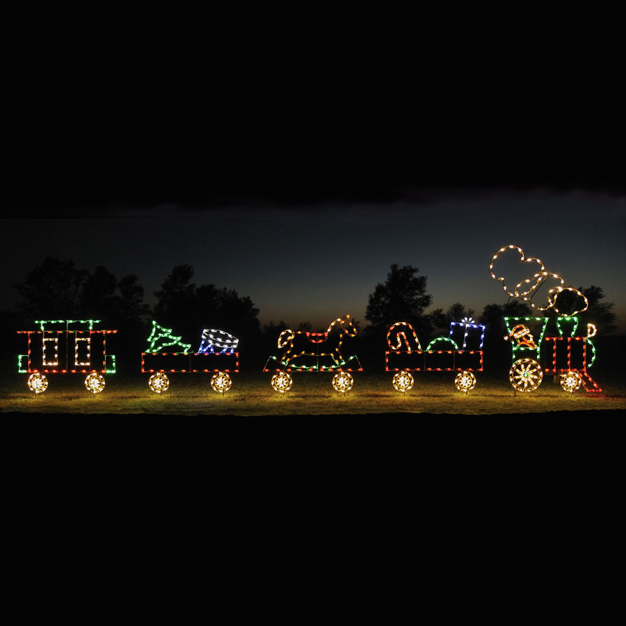 Lighted Trains