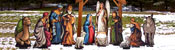View: Wood Nativity Displays