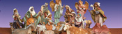 View: Fontanini Masterpiece Collection Nativity 18""
