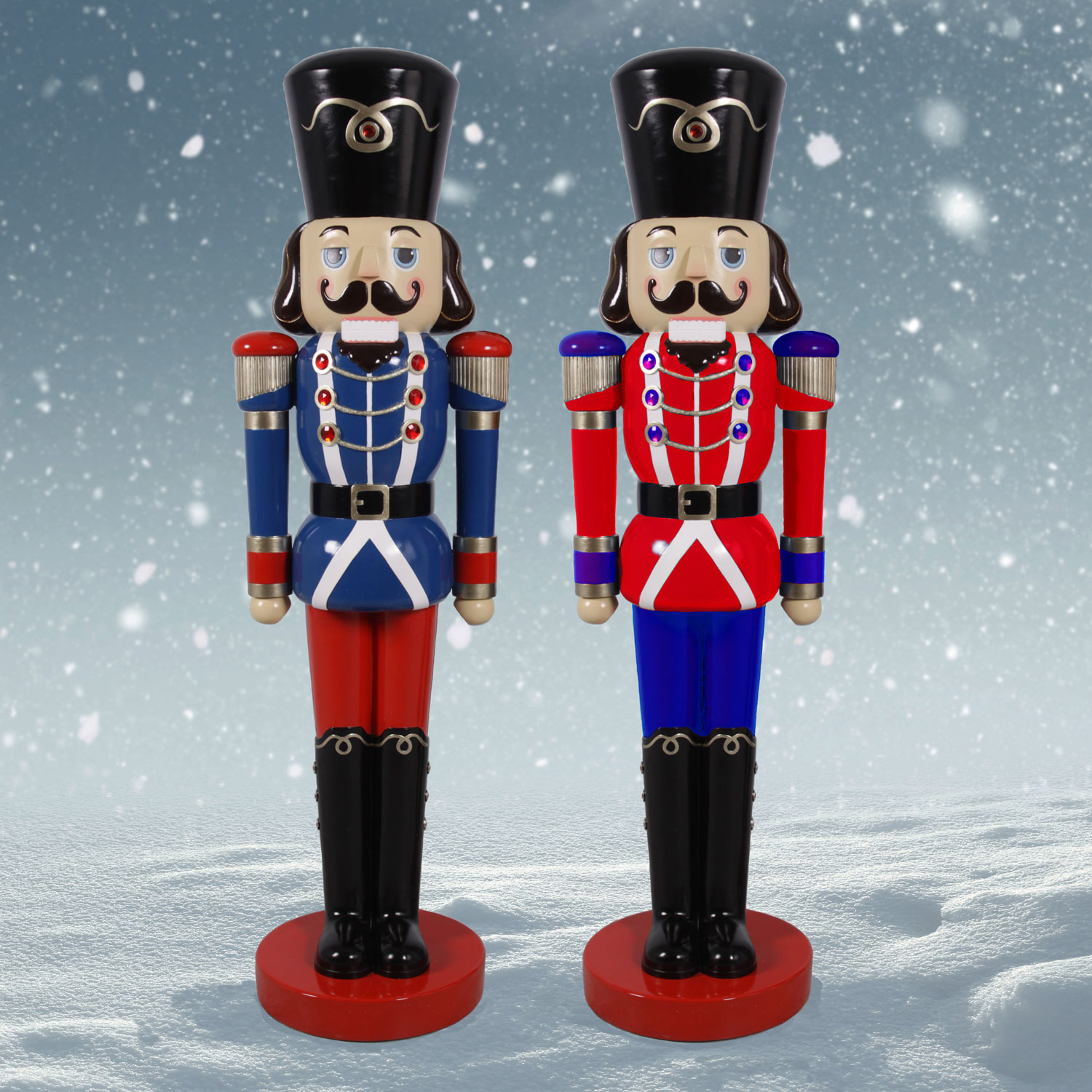 outdoor nutcracker
