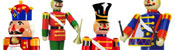 View: Giant Toy Soldiers