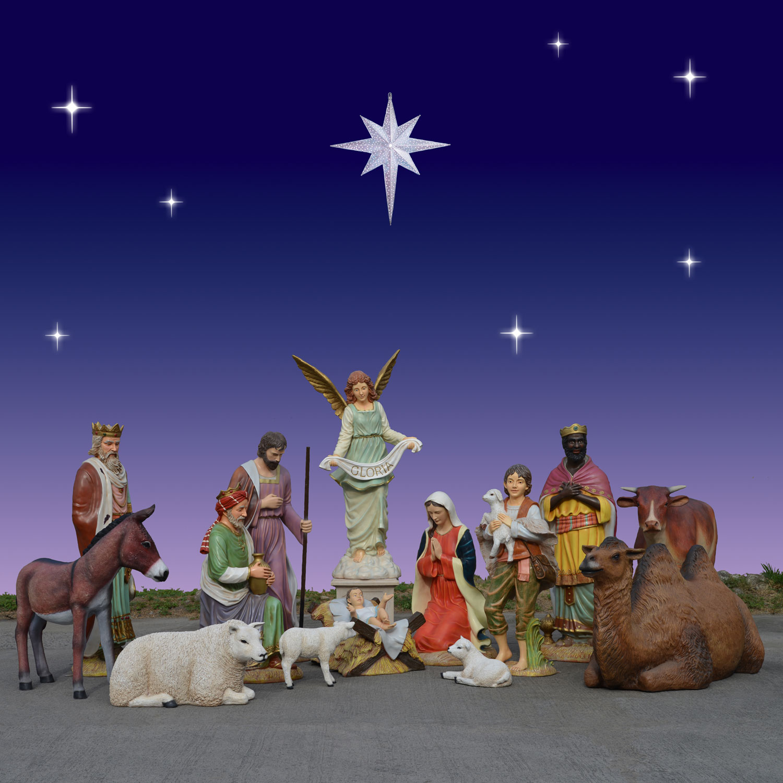 holiday nativity scenes and sets christmas night inc