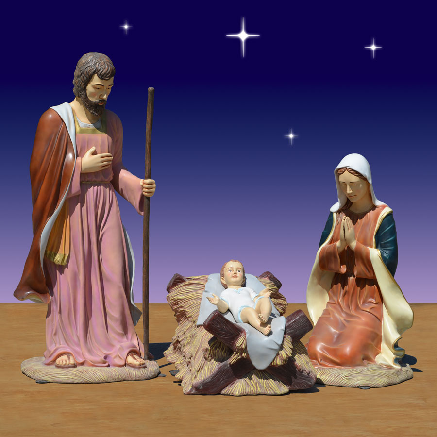 Outdoor Holy Family