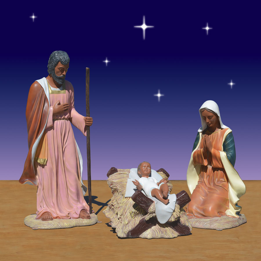 African American Holy Family