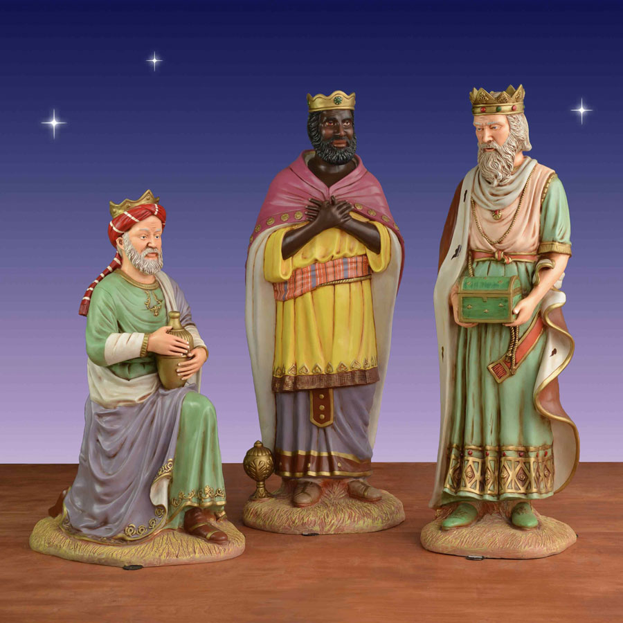 Life size Wise Men