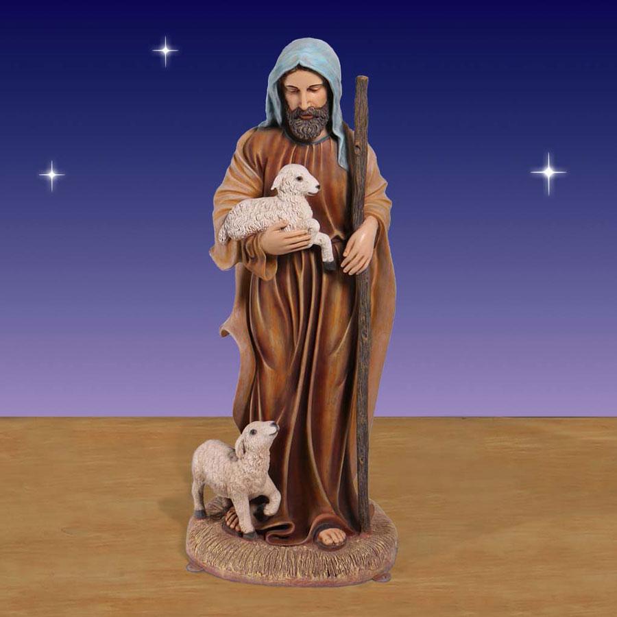 Christmas Lighted Nativity Sets