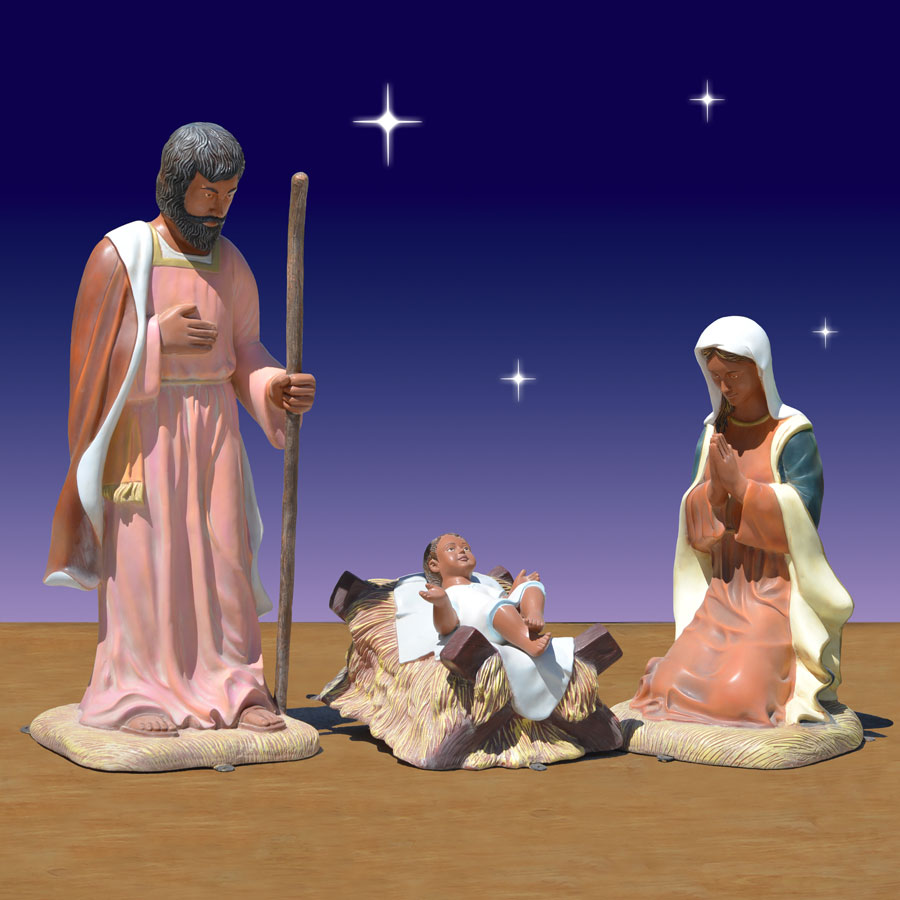 40 inch scale Holy Family
