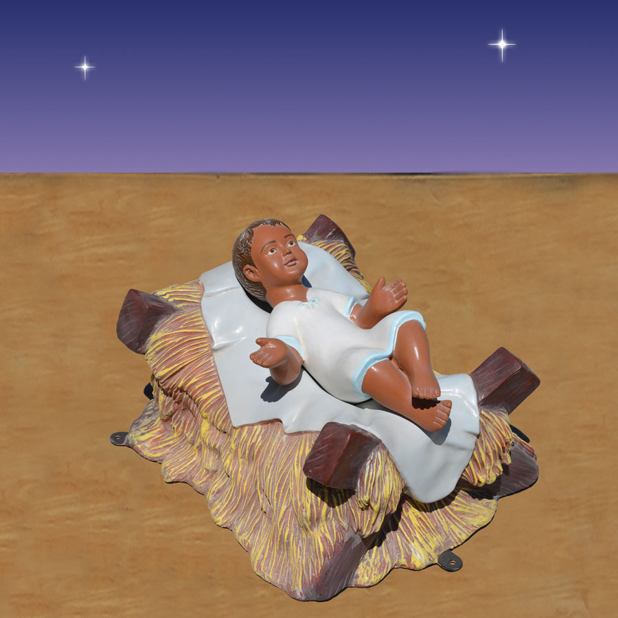 African American Nativity Christ Child