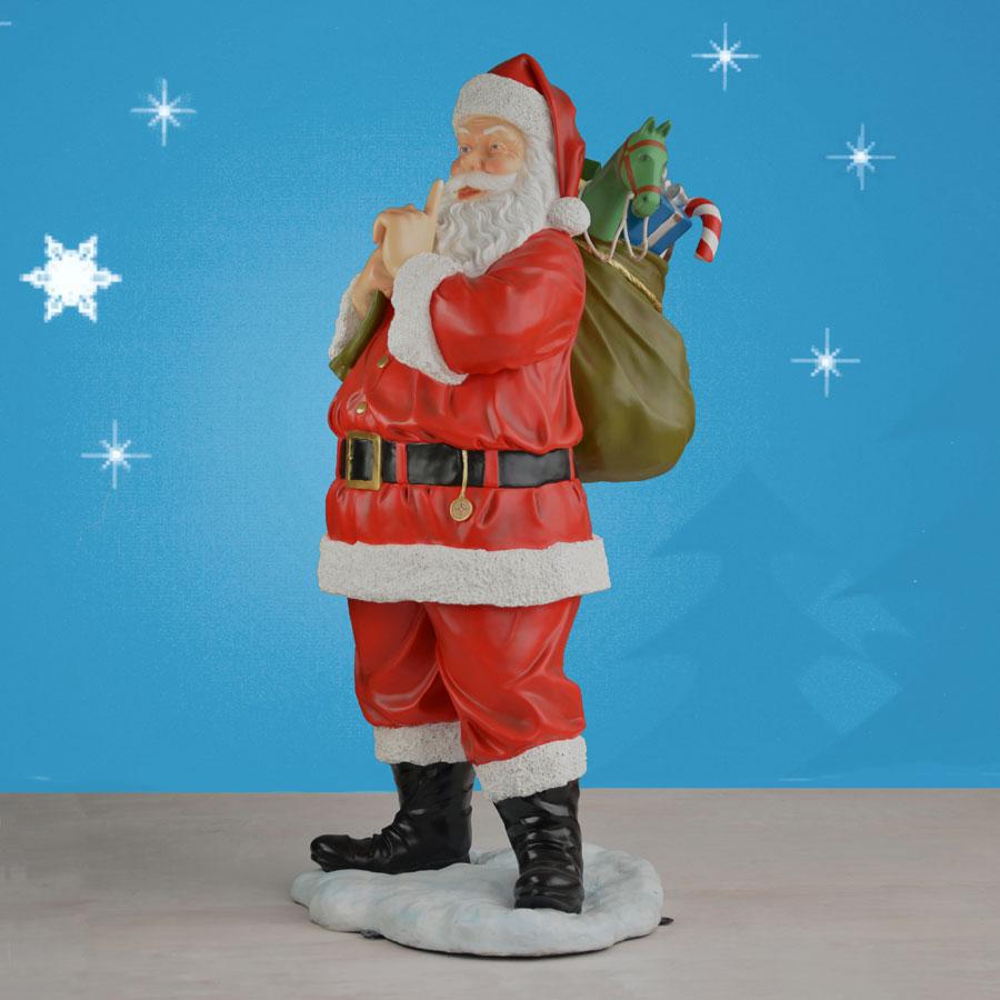 Christmas Decorations Life Size Santa: Life Size Santa Outdoor