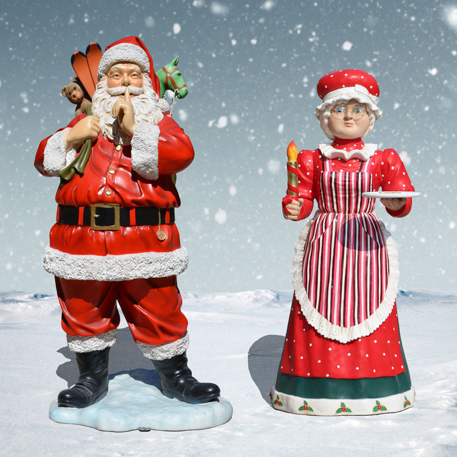 Mr and Mrs Santa