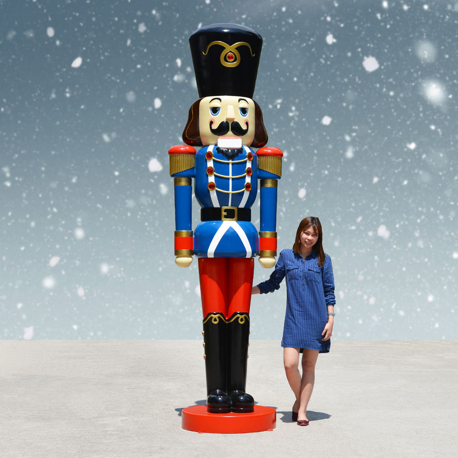 Nutcracker Soldier Blue Jacket