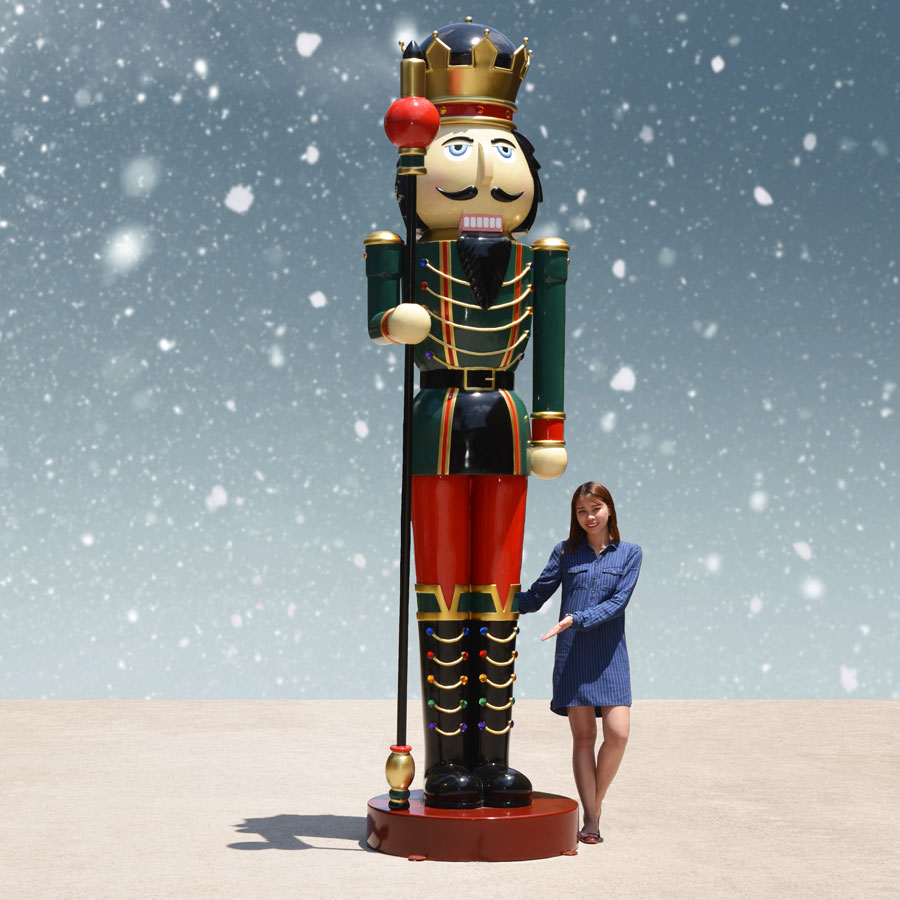 Giant Nutcracker King