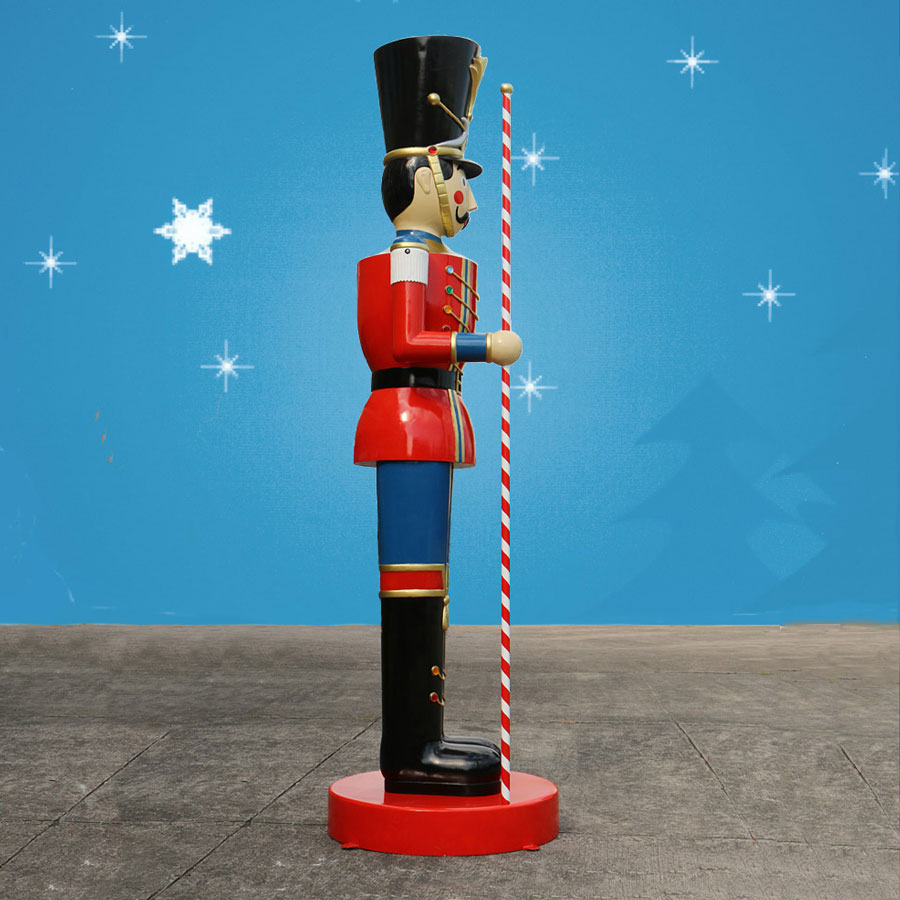 Christmas Toy Soldiers : Christmas night inc giant toy soldier with baton ft