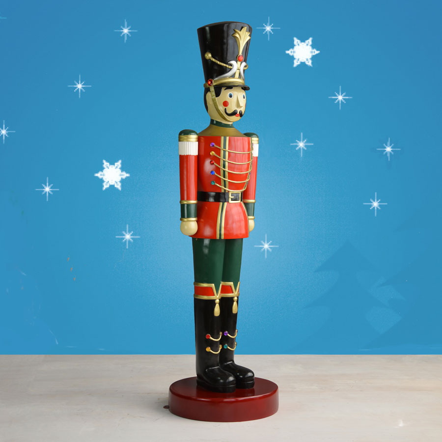 Christmas Toy Soldiers : Ft life size toy soldier christmas night inc