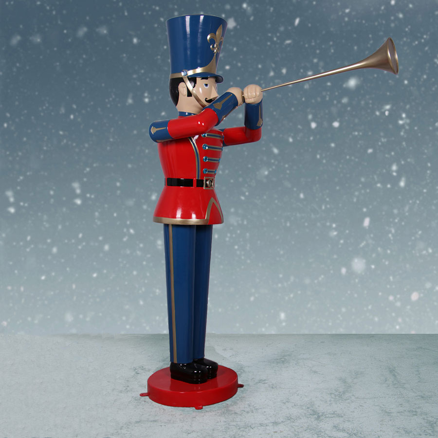 Christmas Toy Soldiers : Ft toy soldier with trumpet christmas night inc