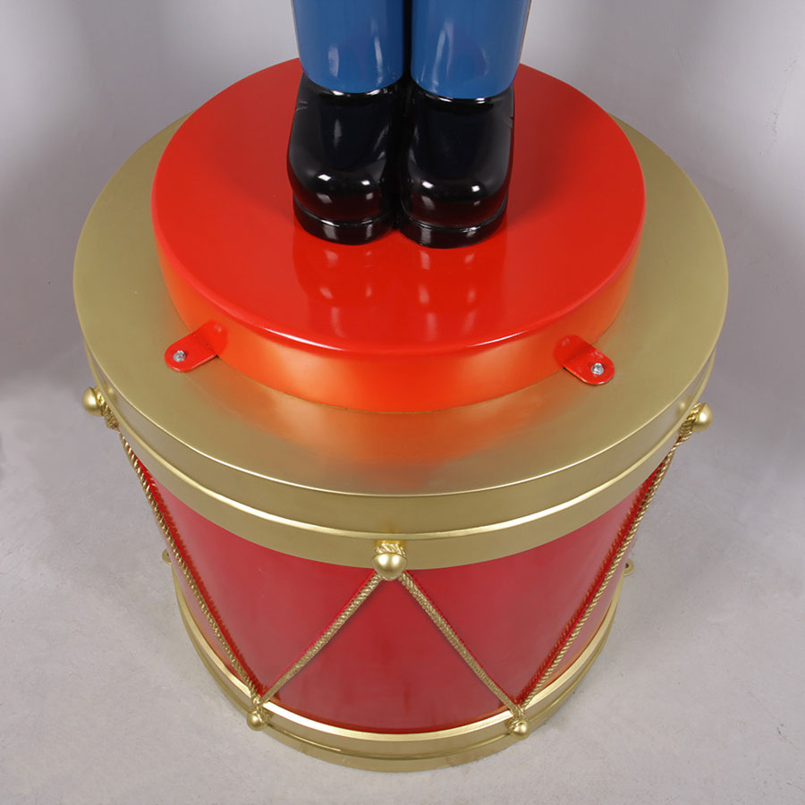 Giant Toy Soldier Display Drum