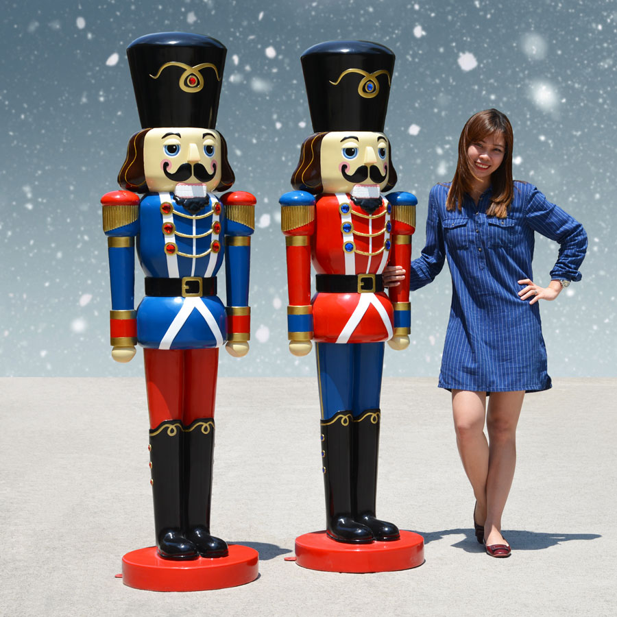 Outdoor Nutcrackers