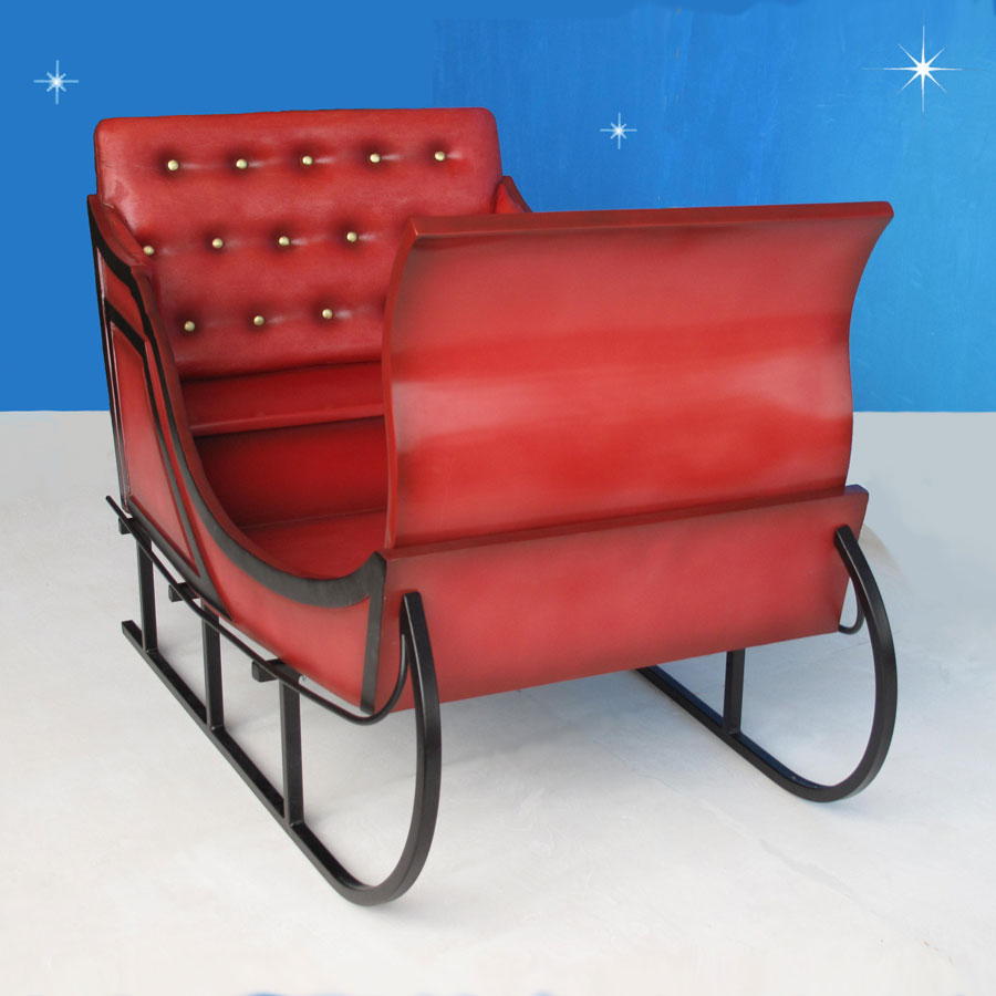 Large Outdoor Christmas Sleigh