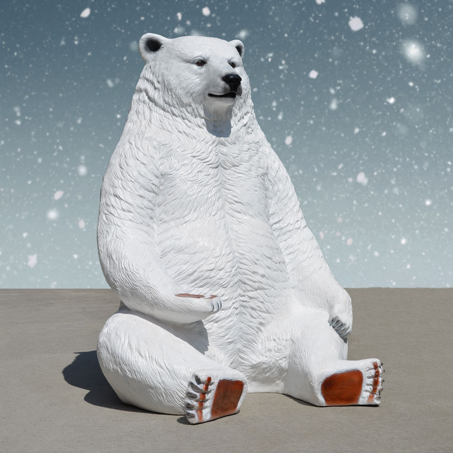 Polar Bear with seat