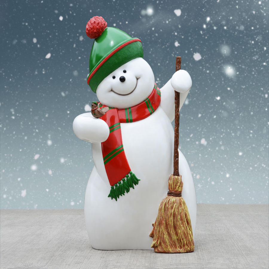 Snowman with Touque