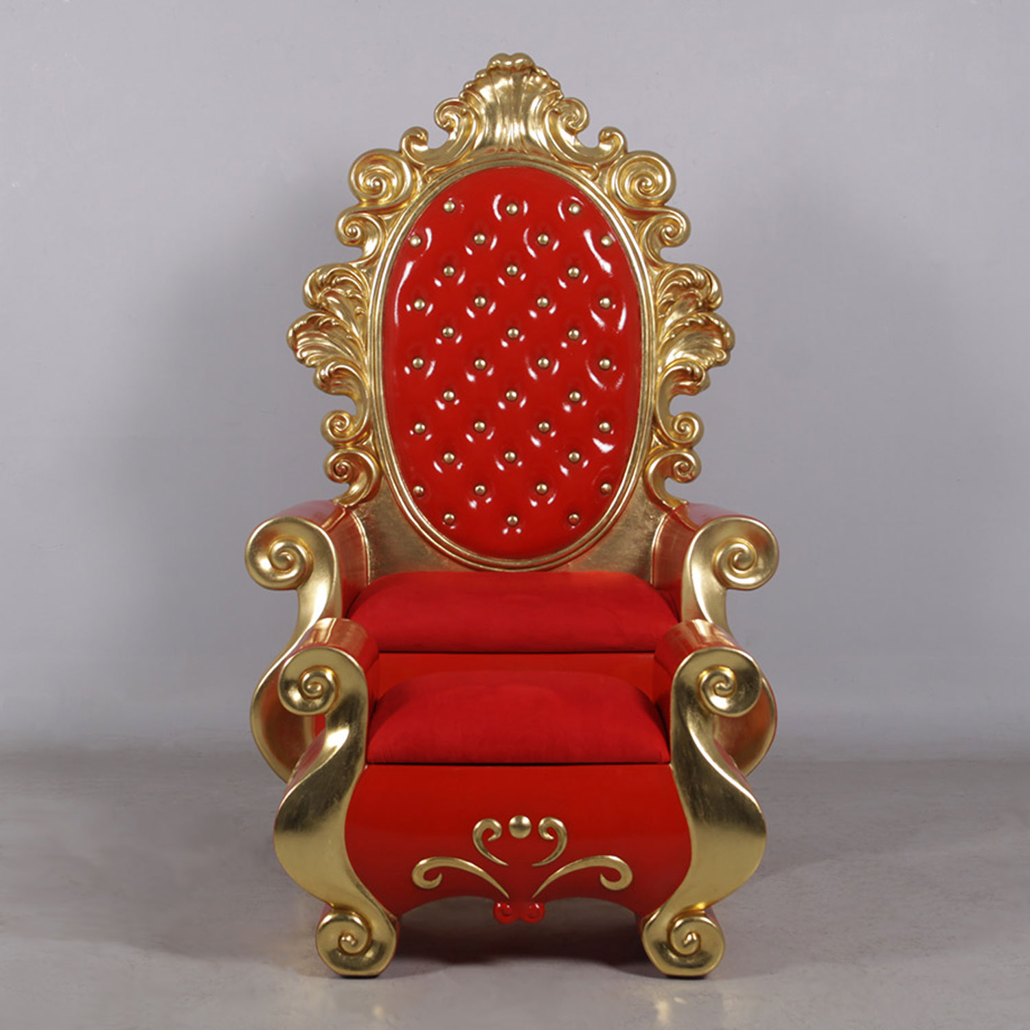 Santa Chair and Stool