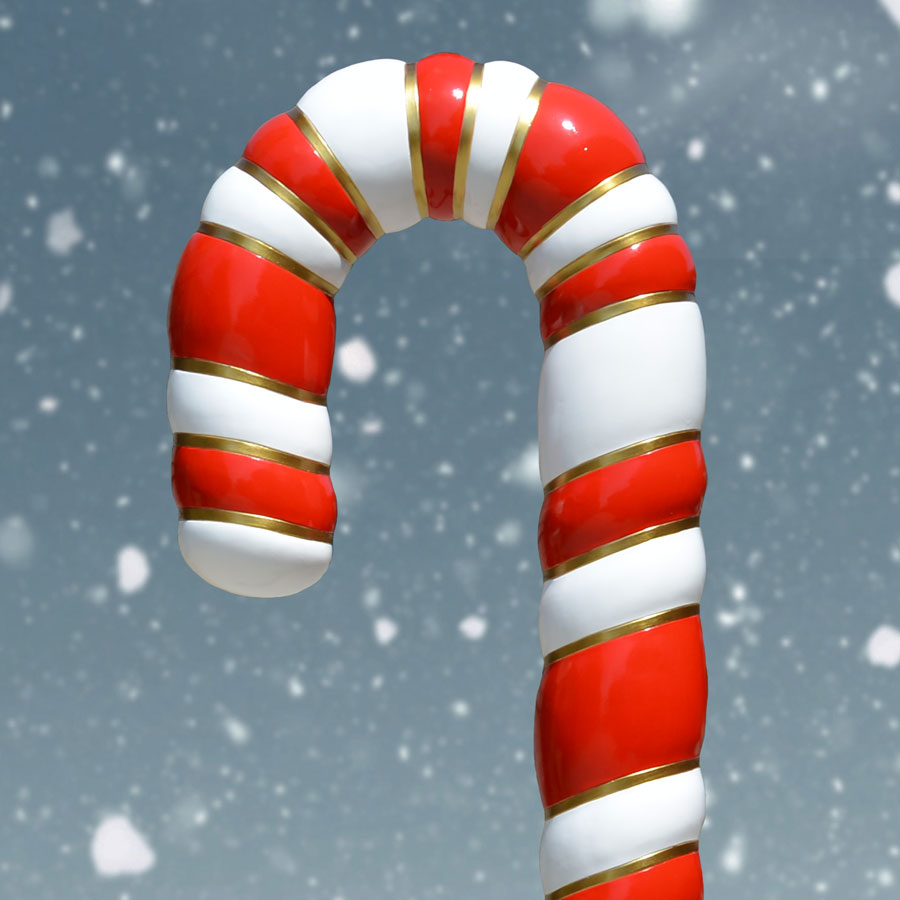 Top of Candy Cane