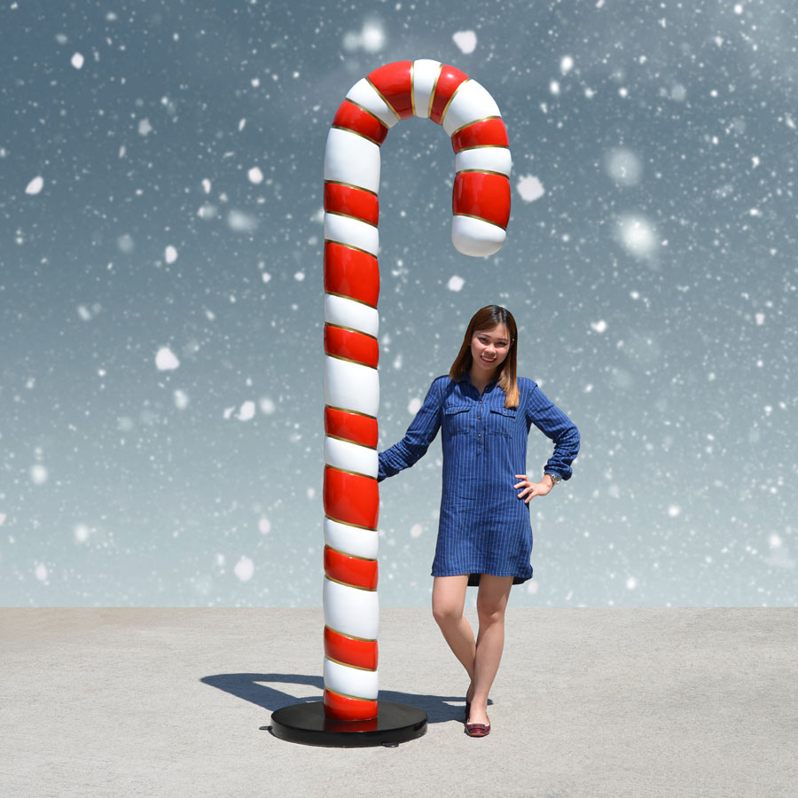 8 Foot Candy Cane