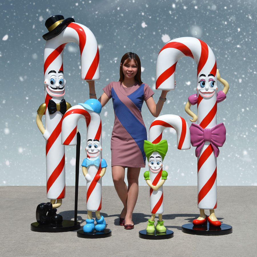 Candy Cane Family