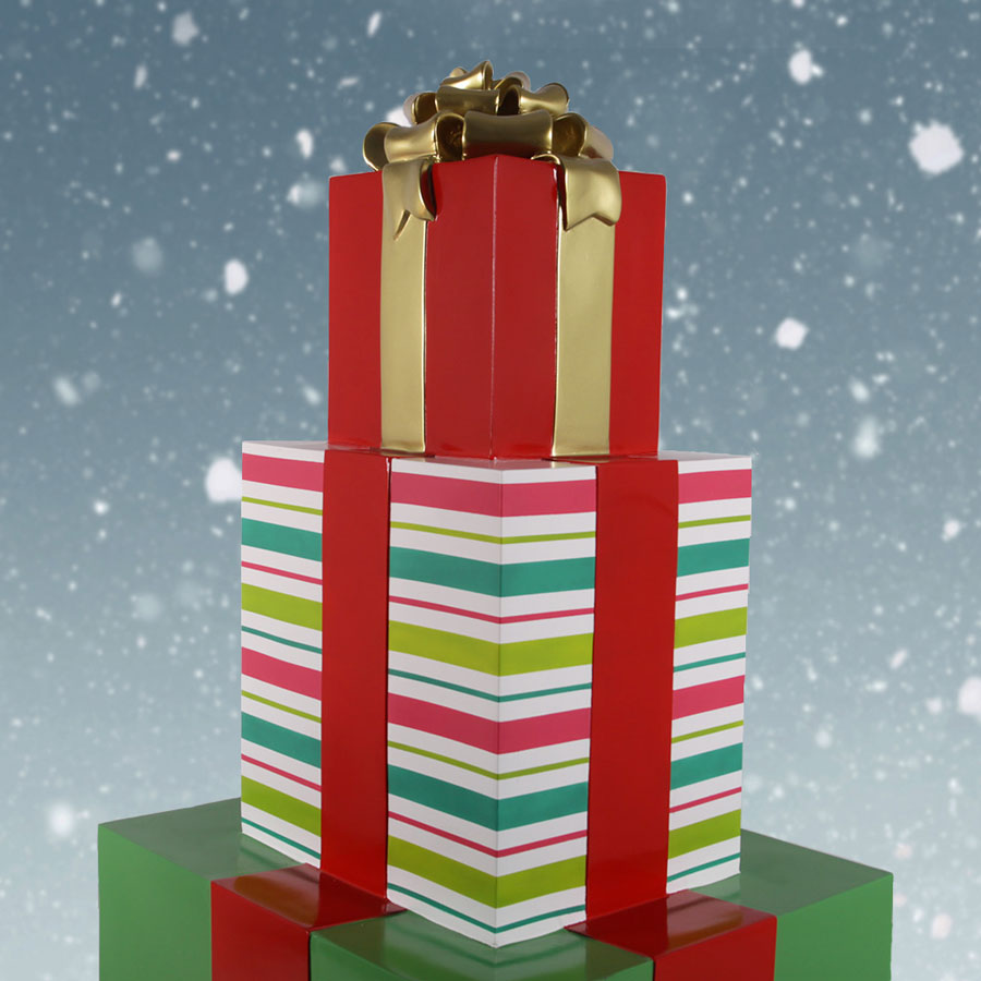 Stack of Xmas Boxes