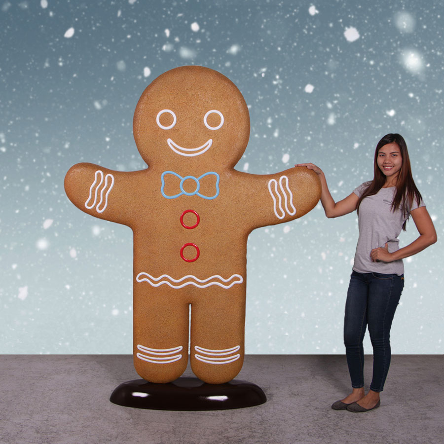 Fiberglass Gingerbread Man