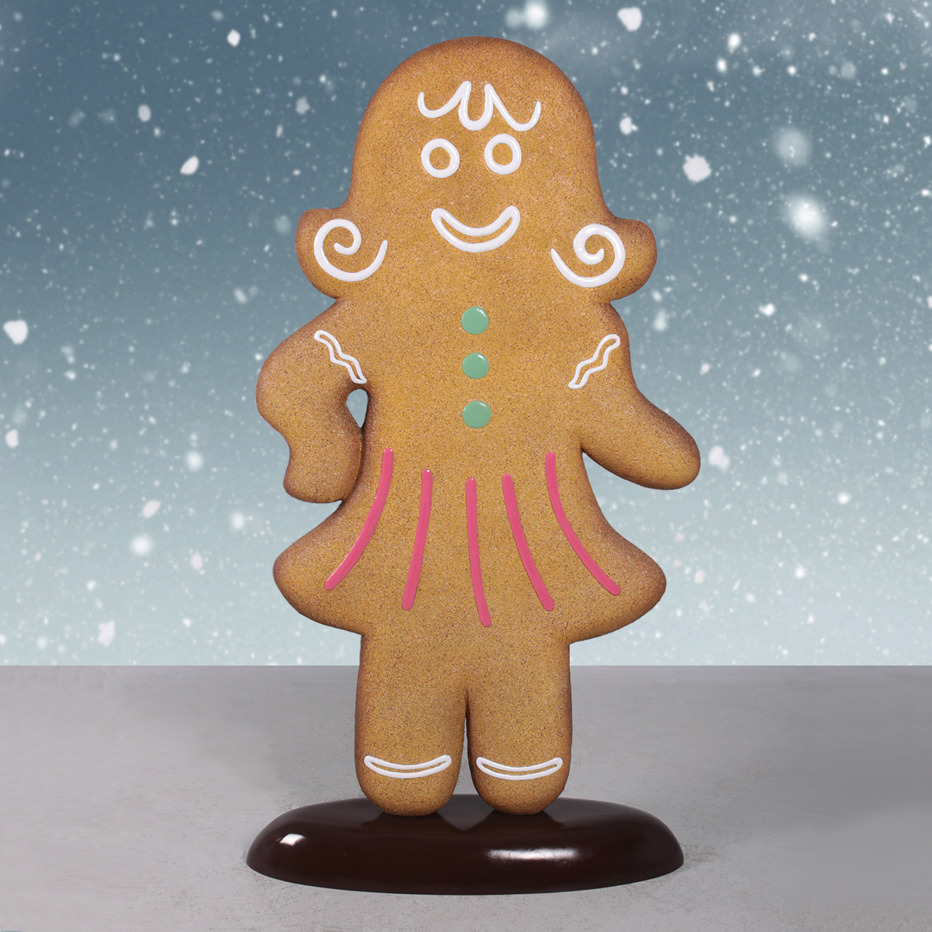 Outdoor Gingerbread