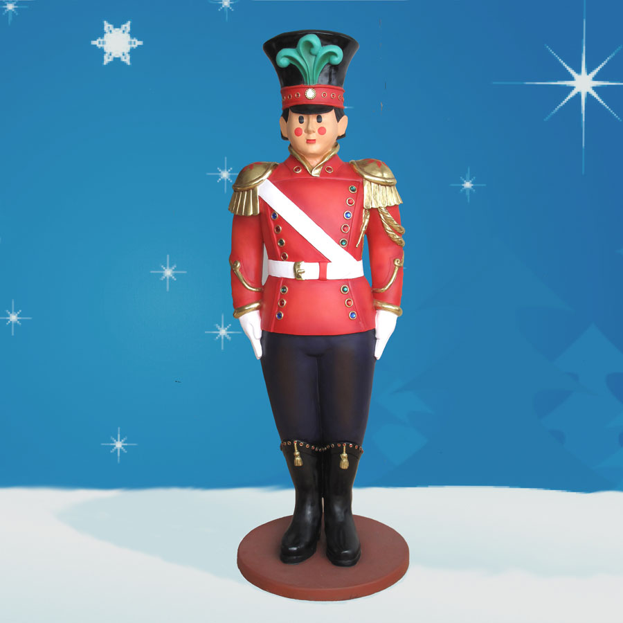 Yab Designs Fiberglass Toy Soldier - 6' Tall