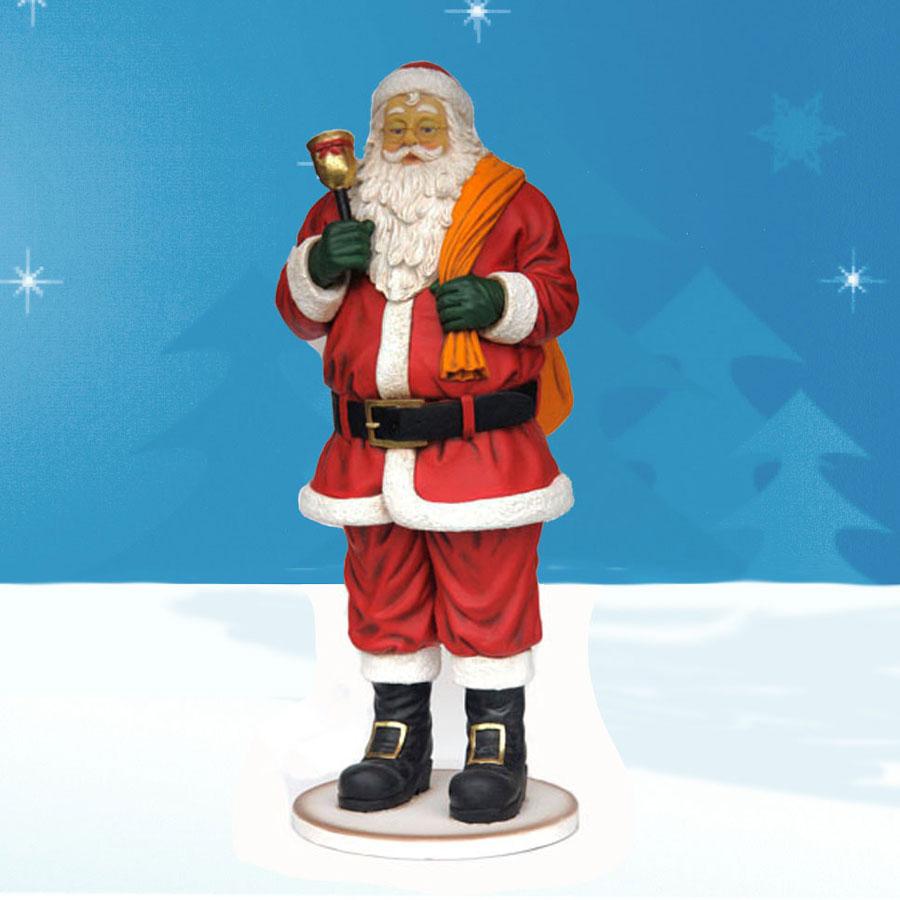 Decorationslifesize toy soldiers and nutcracker christmas decorations - Life Size Santa