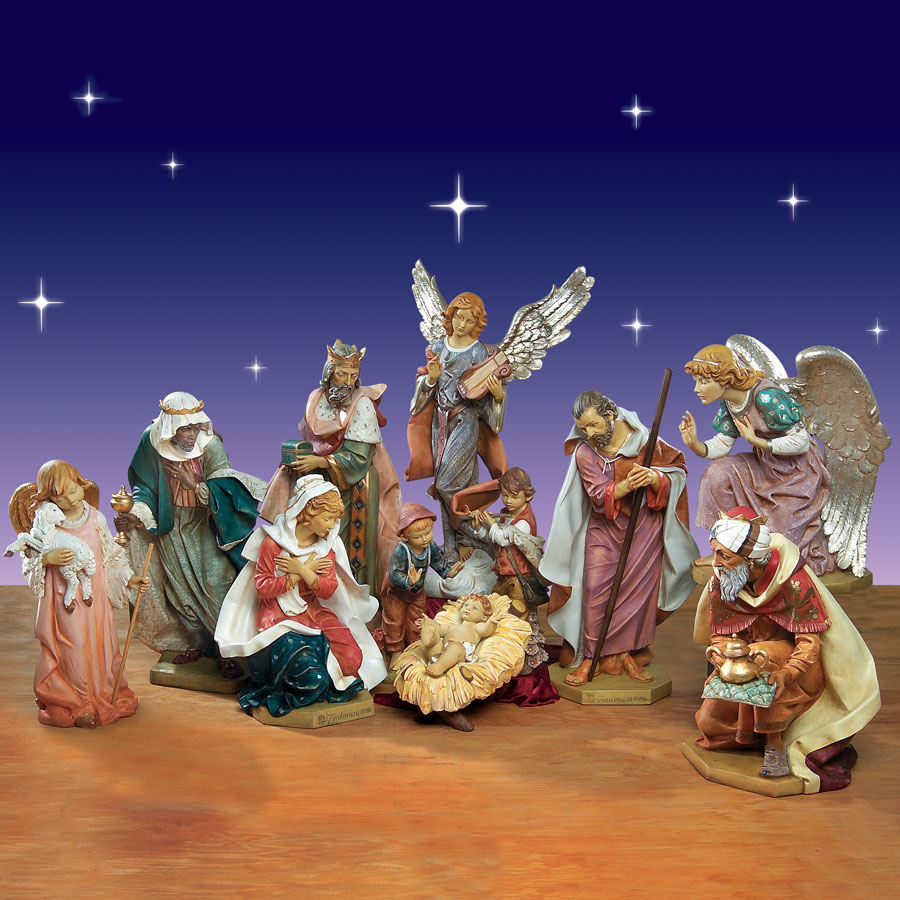 Outdoor Christmas Nativity Set