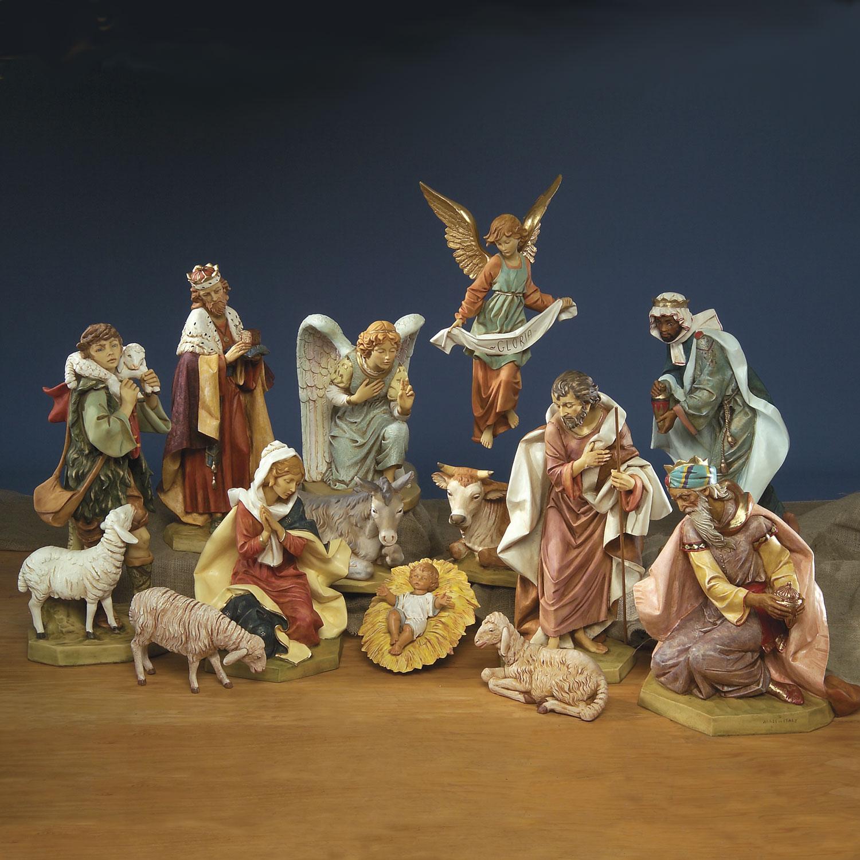 indoor nativity sets christmasnightinc