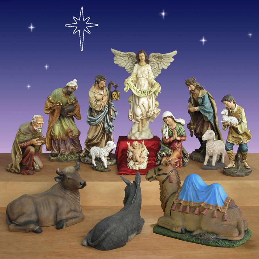 Joseph's Studio Christmas Nativity 40 inch scale 13 piece