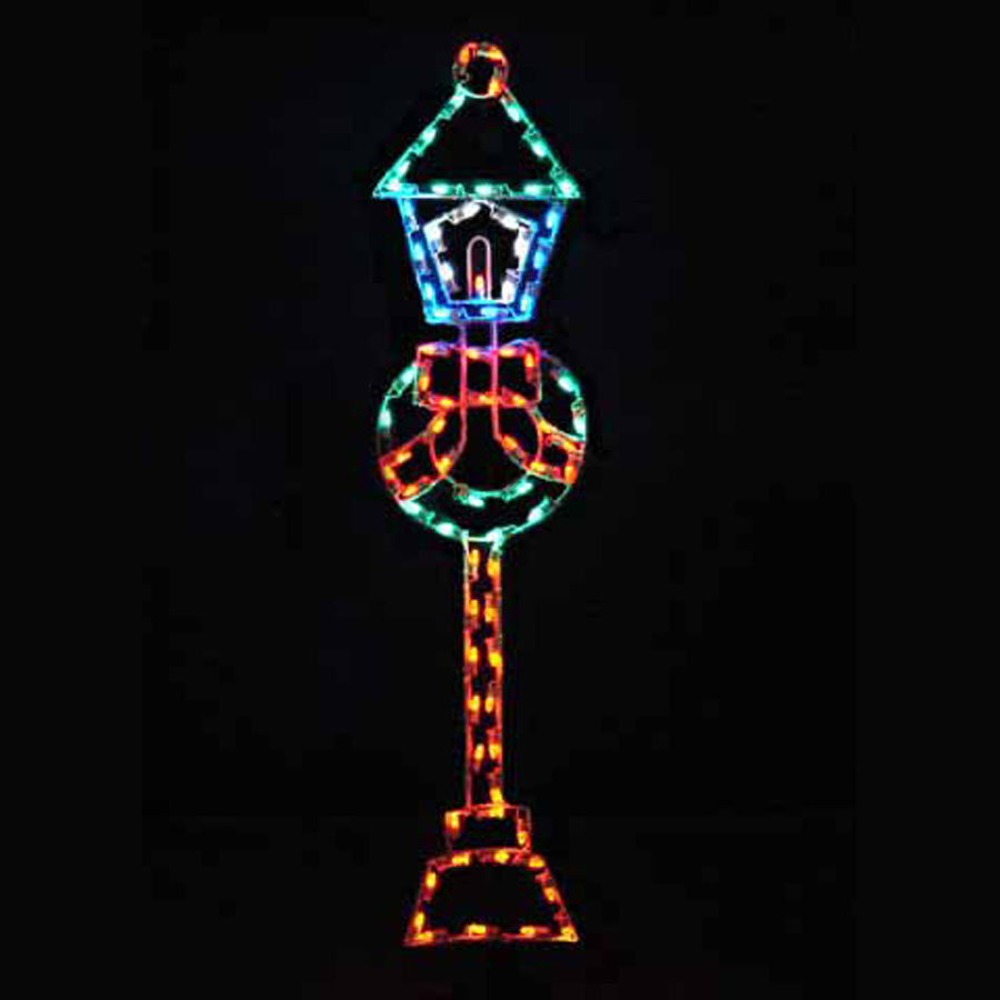 Lamp Post Light Display