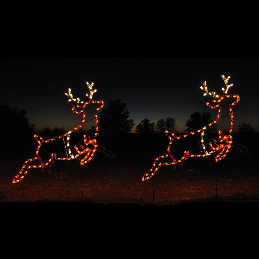 Holiday Lights Reindeer