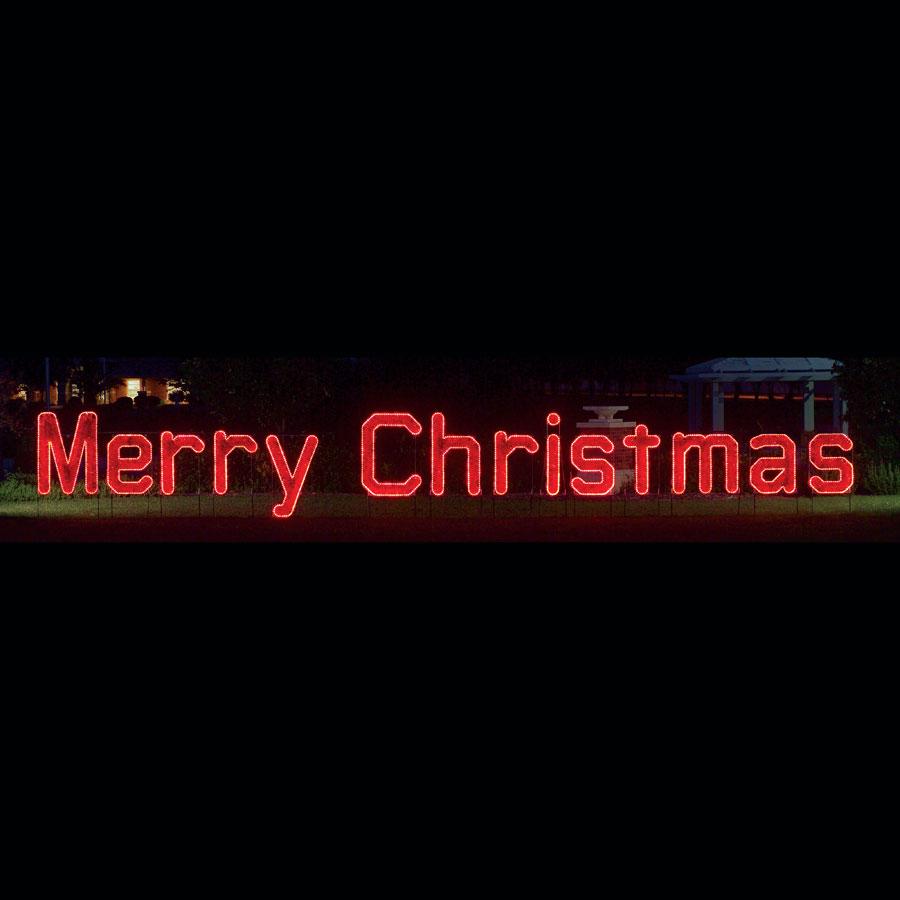 Merry Christmas Light Display