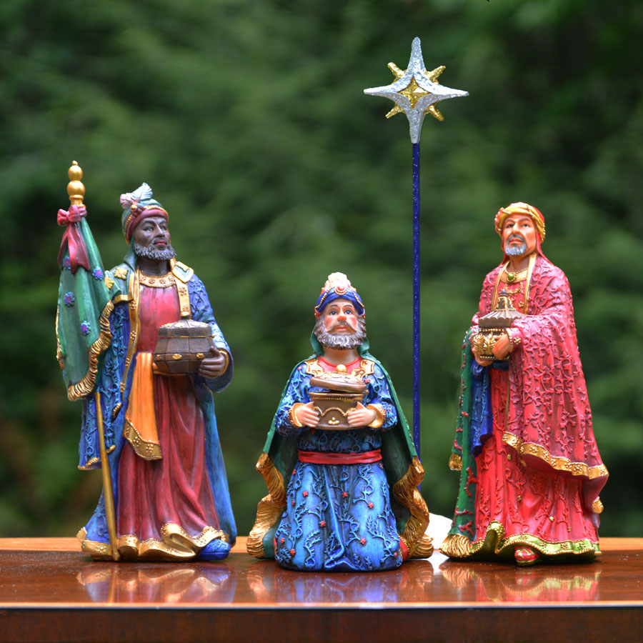 """Three Kings Gifts Real Life Three Kings - 10"""" Scale"""