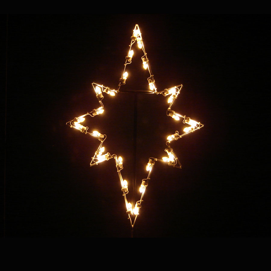 LED Star of Bethlehem - 3' - ChristmasNightInc.com