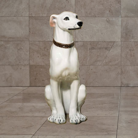 Ceramic Greyhound