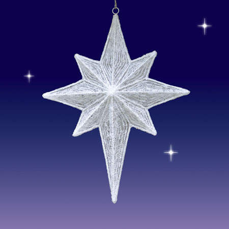 Led Nativity Star 3d 173 173 White 173 173 Seasons Designs 173 47 Quot