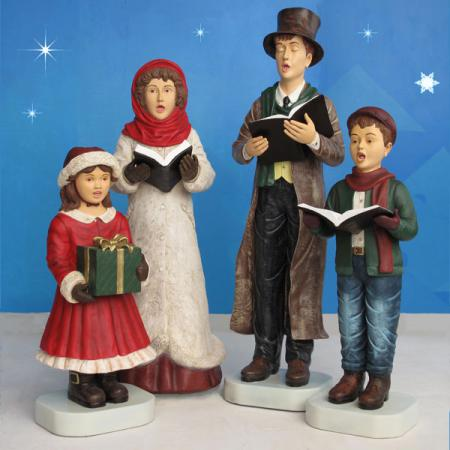 Caroler Set 4 pc 54""
