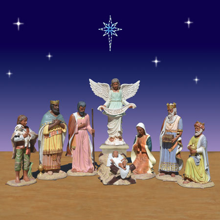 Life Size Black Nativity