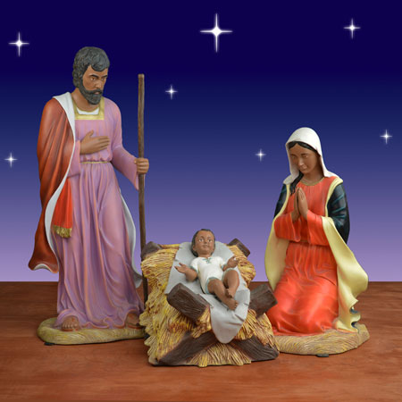 Black Holy Family